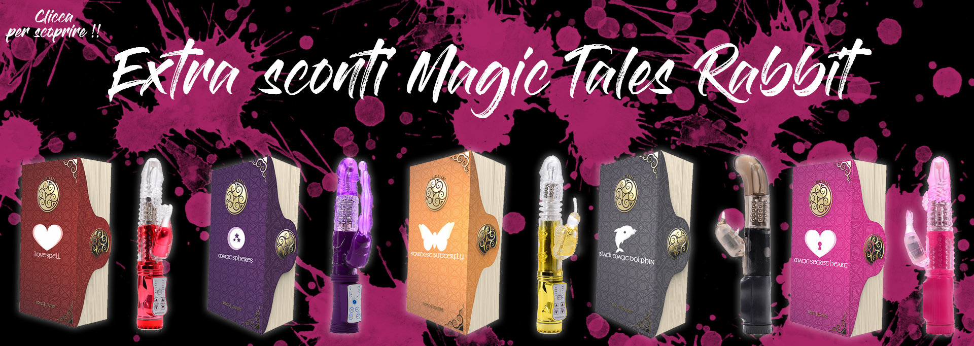 sconti magic tales