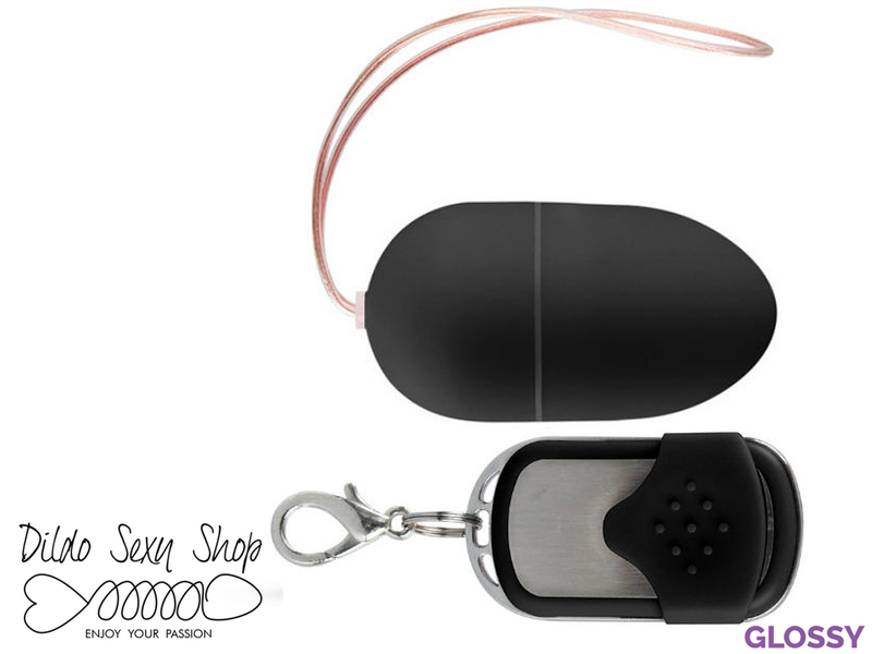 Ovetto Vibrante Stimolante Vagina Clitoride Wireless Powerful Nero