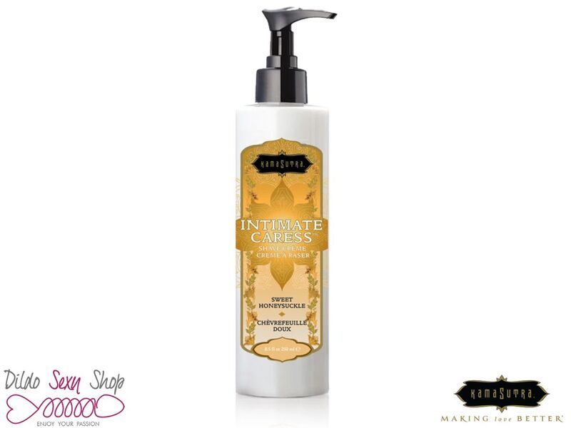 Crema Rasatura Viso e Intima Kamasutra Intimate Caress Honeysuckle 2