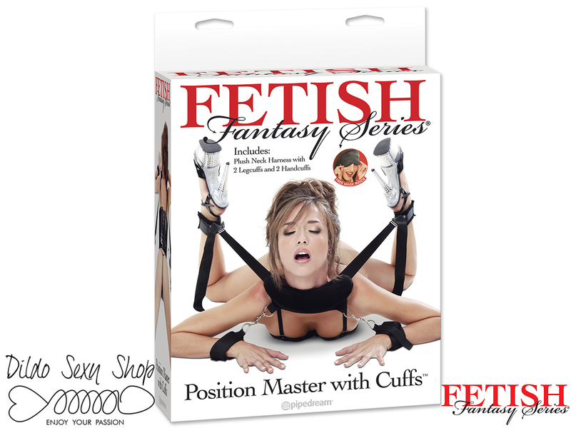 Costrittivi Fetish Pose Donna Uomo PD2154-23 Position Master With Cuffs
