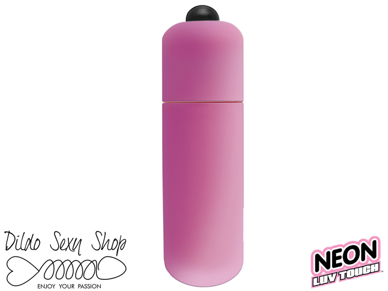 Stimolatore Vaginale Clitorideo Neon Luv Touch Bullet Pink