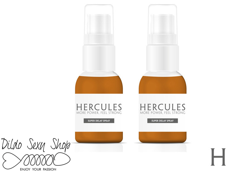 Spray Ritardante Eiaculazione Precoce Pack Da 2 Hercules 15 ml