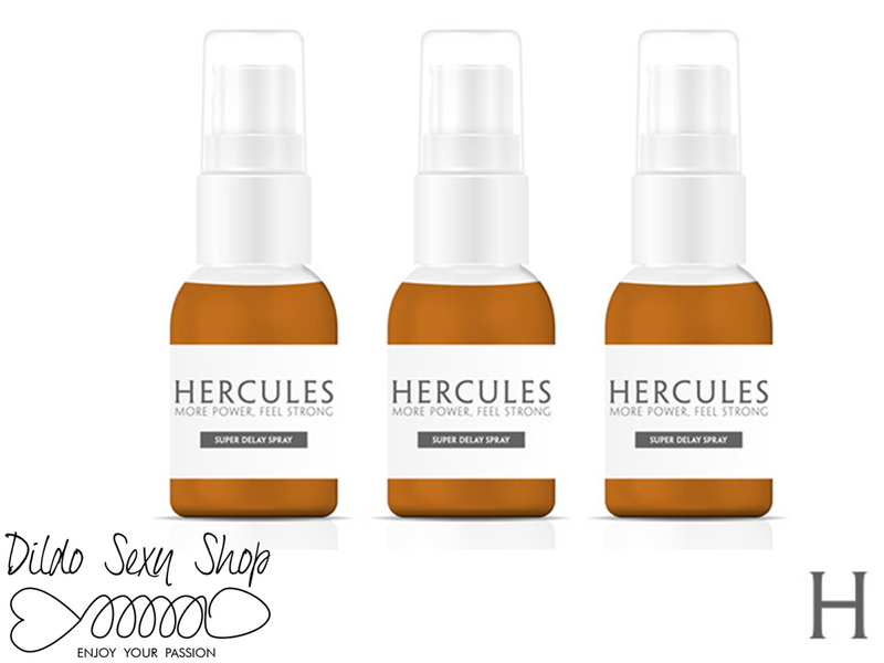 Spray Ritardante Eiaculazione Precoce Pack Da 3 Hercules 15 ml