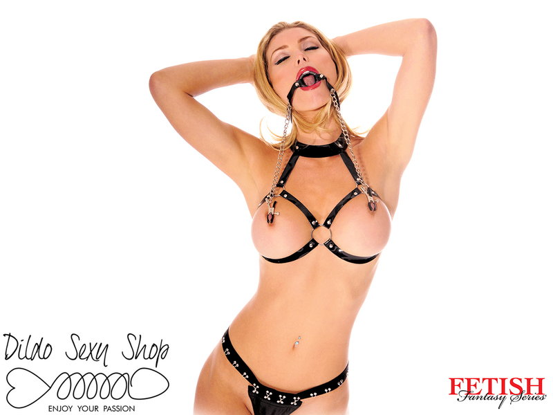 Morso Con Pinze Capezzoli Fetish Fantasy Series O-Ring Gag