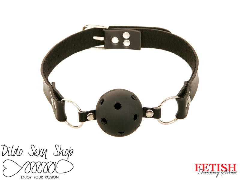 Morso Forato Pvc Fetish Fantasy Series Breathable Ball Gag